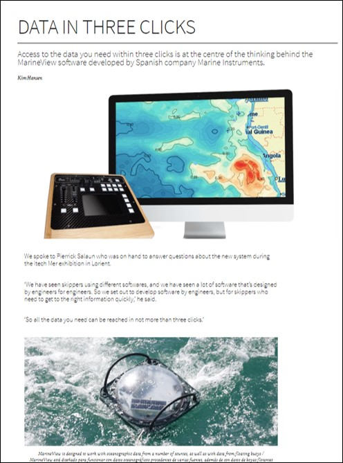 Artículo Marineview online