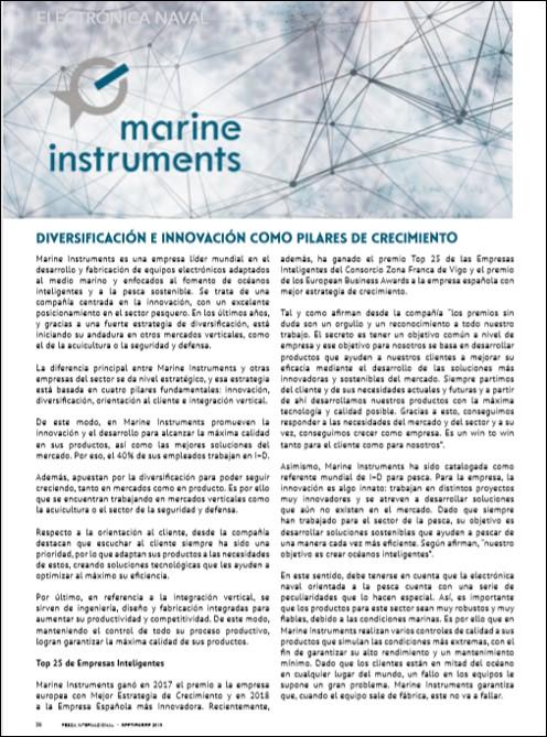 Artículo Pesca Internacional